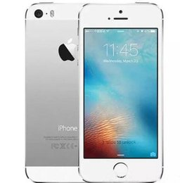 iphone 5s 16gb white Canada - Original Apple iPhone 5S 16GB 32GB 64GB 4G LTE iOS 8.0 4.0 inch Retina Screen Dual Core A7 GPS Fingerprint Scanner Refurbished Smartphone