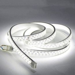 $enCountryForm.capitalKeyWord NZ - 100m lot High Voltage LED Strip Light AC110V 220V SMD 5730 180leds m Waterproof Double Row Flexible Lighting IP67 Power Plug