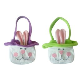 Shopping Bags Alert Party Supplies Toy Cute Gift Easter Bunny Kids Candy Decoration Egg Basket Storage Home Decor Flower Handbag Rabbit