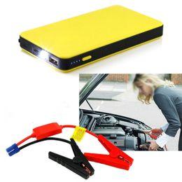 12V 8000mAh portátil del salto del coche arranque Banco de alimentación automática de puente Banco de potencia del motor Booster batería de emergencia Voiture accesorios del coche en venta