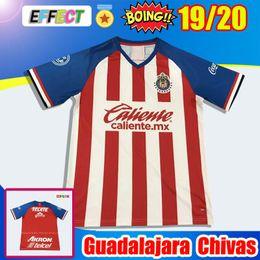 e00420137 DHL Shipping New 2019 2020 Copa America Chivas de Guadalajara Soccer Jersey  Kit 18 19 20 Liga MX Camisa de Futebol Home Red Football Shirts