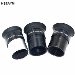 telescoping glasses Australia - HSEAYM PLOSSL 4mm 6.3mm 12.5 mm 1.25 Inches (31.7mm) Optical Glass Metal Astronomical Telescope Eyepiece Ocular Focal length