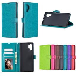 Wholesale samsung s7 phone case wallet for sale - Group buy PU leather Flip Wallet Phone Case For Samsung Galaxy Note Plus S7 Edge S8 S9 S10 Plus S10e G TPU in inner Cover