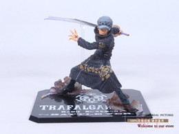 "one piece trafalgar figure Australia - Free Shipping Cool 5"" One Piece The Surgeon of Death Trafalgar Law After 2 Years Battle Ver. PVC Action Figure Model Toy T200704"