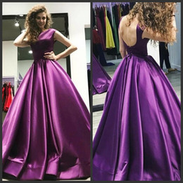 52f94e5d2d1 New Arrived Purple Prom Dresses Elegant Jewel Neck Sexy Backless Formal  Evening Dresses Floor Length Custom Made Women Cocktail Party Gowns