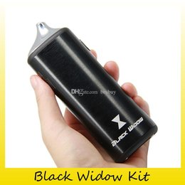 Liquid Dry Vaporizer Pens Australia - Authentic Black Widow Vaporizer kit 3 in 1 Wax Herbal Liquid Vape Pen Dry Herb Vaporizer Kit 100% Genuine 2252002