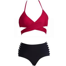 daf3d4b7bd Bikini 2019 new hot Women's Print Swimwear Sexy Two-Piece Swimwea Summer  Swimsuit Bikini Women Push Up maillot de bain femme 4jx