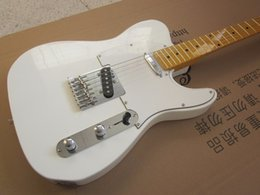 Guitars china online shopping - electric guitar elm body TL clear white color electric guitar electric guitar guitar in china