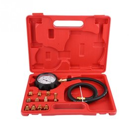 engine gearbox Australia - TU-11A Automatic Gearbox Transmission Engine Oil Feul Pressure Tester Gauge Kit 500Psi Car Accessories Car Diagnostic Tools