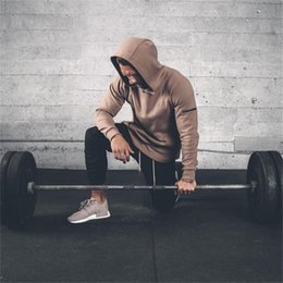 $enCountryForm.capitalKeyWord Australia - 2019 Men Bodybuilding Hoodies Gyms Brand Clothing Men Hoody Side Zipper Casual Sweatshirt Men's Fit Hooded Jackets