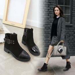 Ways Boots NZ - Sexy2019 Wind Restore Ancient Ways And Autumn Season Pattern Han Banbai Build Single Thick Bottom Short Boots