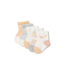 $enCountryForm.capitalKeyWord UK - Niduo Bear 5 Pairs lot Thin Boy Socks for Kids Mesh Cotton Socks Lovely Striped Breathable Toddler Boy