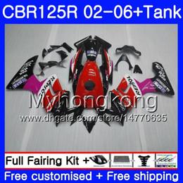 $enCountryForm.capitalKeyWord NZ - Body +Tank For HONDA Repsol red new CBR-125R 125CC CBR125RR CBR125R 02 03 04 05 06 272HM.11 CBR 125 R 125R 2002 2003 2004 2005 2006 Fairing