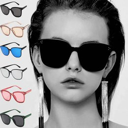 nice sunglasses for women NZ - Fashion Trend Sunglasses Lady Retro PC Big Frame Nice Face Sunglasses Sun Glasses for Women and Men Wholesale Free Shipping - 0004GLS