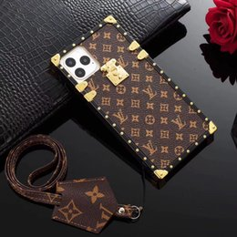 Wholesale New Arrival phoneCase for 11 11promaxX XS MAX 8 8plus 7 7P 6s Luxury Cases Retro Leather Cases Cover letter-case-for-x-xs-max-8-8plus