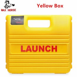 Software Repair Box Australia - New Launch X431 Easydiag Mdiag Connector full Set Package LAUNCH X431 yellow box X431 Idiag adapter Free Shipping