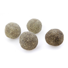 hair mint Australia - Cat Mint Ball Natural Catnip Teeth Cleaning Help cats to remove hair ball Playing Chew Toys Pet Supplies