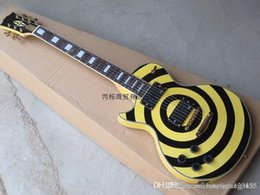 $enCountryForm.capitalKeyWord UK - Free shipping High-quality !l Wholesale - G Zakk Wyld Custom left hand electric guitar black Yellow