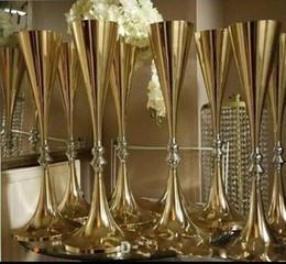 $enCountryForm.capitalKeyWord Australia - 70cm 27 inches tall White Silver Wedding Flower vase Bling Table Centerpiece Sparkling Wedding Decoration Banquet Road Lead Decor