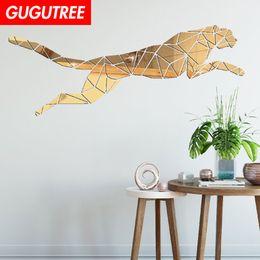 $enCountryForm.capitalKeyWord NZ - Decorate Home 3D tiger cartoon mirror art wall sticker decoration Decals mural painting Removable Decor Wallpaper G-271