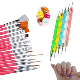 $enCountryForm.capitalKeyWord Australia - kit tools Biutee Brush Art Design Painting Pen Polish Brush Set Kit DIY Professional Nail Brsuhes Dotting Tools
