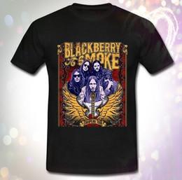 Trendy Tees women online shopping - New Blackberry Smoke European Tour Southern Rock T shirt Casual Trendy Cozy Short Sleeve O Neck Tee women tshirt Short Sle