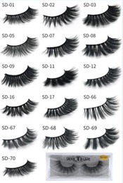 2388a5d603d Mink eyelash individual online shopping - HOT New D Mink Eyelashes  Eyelashes Messy Eye lash Extension