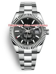 Chinese  8 Style Top Version Topselling 42mm Sky-Dweller GMT Workin 326934 326933 326938 Date Steel Asia 2813 Movement Automatic Mens Watch Watches manufacturers