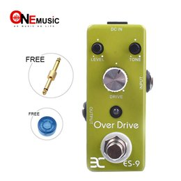 Effects Pedal Connector Canada - Eno Music EX Micro OD-9 ES-9 Classic Over Drive Guitar Effect Pedal Metal Shell Tc17 Free connector