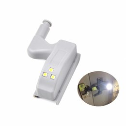 Universal Inner Hinge Led Under Cabinet Light Motion Sensor Lamp 3 Led Night Light Auto Switch For Wardrobe Cupboard Door Closet Elegant Appearance Back To Search Resultslights & Lighting