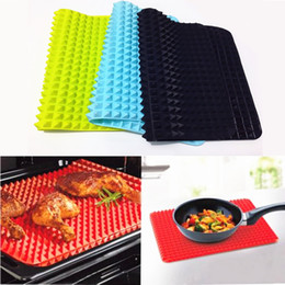 $enCountryForm.capitalKeyWord Australia - 40x27cm Pyramid Bakeware Pan 4 color Nonstick Silicone Baking Mats Pads Moulds Cooking Mat Oven Baking Tray Sheet Kitchen Tools