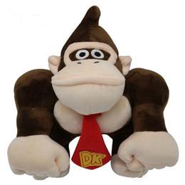 $enCountryForm.capitalKeyWord UK - Super Mario Plush Toys Orangutan Kids Soft Stuffed Animals kawaii Toy Cartoon Game Dolls Toys for Children 30cm