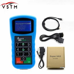 Vw Can Key Programmer Australia - Professional SuperVAG K CAN Plus 2.0 odometer correction tool key programmer airbag reset tool for VW for Audi Free Shipping