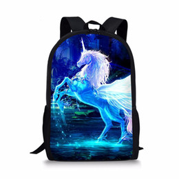 $enCountryForm.capitalKeyWord Australia - New Arrivals Set Childrens Schoolbag Unicorn Animals Girls Book Backpack Kids Mochilas Escolares with Lunch Pencil Custom Bags