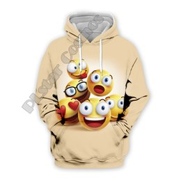 cute cartoon charms Australia - PLstar Cosmos emoji cute cartoon charming eyes 3D Printed Hoodie Sweatshirt Jacket shirts Mens Womens lovely awesome style-9