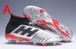 $enCountryForm.capitalKeyWord Australia - 2019 Predator 19+ Predator 19.1 FG PP Paul Pogba Mens Women Kids Youth Soccer Football Shoes 19+x Cleats Boots High Ankle Size 35-45