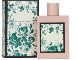 Fragancia desodorante parfum 100 ml flor floral verde perfume para mujeres con caja de largo tiempo de la última fragancia en venta