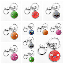 Discount metal baby keys - 6 Styles Uglydolls Keychain Cartoon Uglydolls Key Ring Christmas Gifts for Baby Charms Uglydolls Bag Pendant Novelty Ite