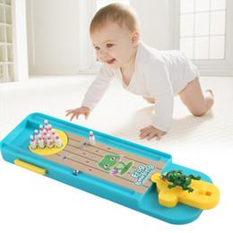 $enCountryForm.capitalKeyWord Australia - 2019 Kids Baby Puzzle Desktop Games Creative Interaction Mini Frog Bowling Platform Pearl Launch Pad Toys Toddler Family Play