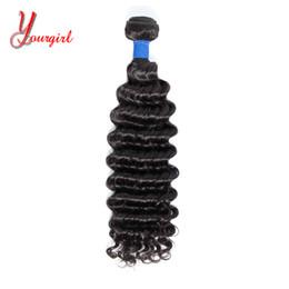 Natural Machines Australia - Deep Wave Virgin Hair 8-28 Inches Natural Color Brazilian Peruvian Malaysian Indian 1 Pcs Can Buy 2 3 4 Pcs Machine Double Weft