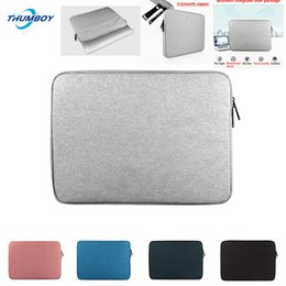"Macbook Retina 13 Inches Australia - New Laptop waterproof Bags Sleeve Notebook Case for Lenovo Macbook 12 13 14 15 15.6 inch Cover Retina Pro 13.3""zipper bag"