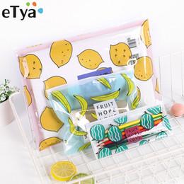$enCountryForm.capitalKeyWord Australia - eTya Transparent PVC Travel Cosmetic Bag Women Multifunctional Makeup Bag Organizer Storage Pouch Toiletry Beauty Wash Kit Case