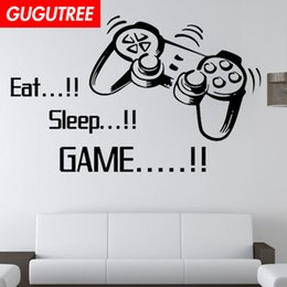 $enCountryForm.capitalKeyWord Australia - Decorate Home game cartoon art wall sticker decoration Decals mural painting Removable Decor Wallpaper G-1576