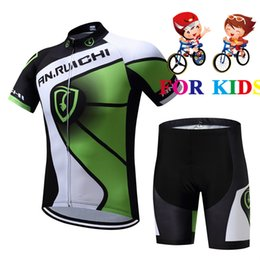 sleeves jersey Australia - Child Bike Racing Cycling Jersey Tops Summer Girl boy Short Sleeve Bicycle Cycling Clothing Breathable MTB Bike Jerseys Kids