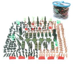 $enCountryForm.capitalKeyWord UK - Soldier model toy 203PCS set World War II military sand table war scene model children plastic toys