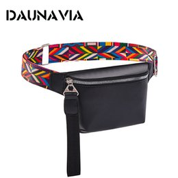 bohemian leather bag Australia - Waist Bag for Women PU Leather Fanny Pack Fashion Bohemian Belt Bag Women Phone Pouch Casual Black Chest Bags Girls Shoulder