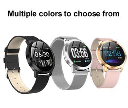 electronics ratings NZ - New Smart Electronics SmartWatch Wristband Fashion Fitness Tracker Heart Rate Blood Pressure Monitor Sleep Monitoring For Men Women CF18