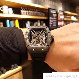 $enCountryForm.capitalKeyWord Australia - watch es Movement Hollow Movement, Wear-resistant Carbon Fiber, Equipped With 6t51 Luxury Montre De Luxe