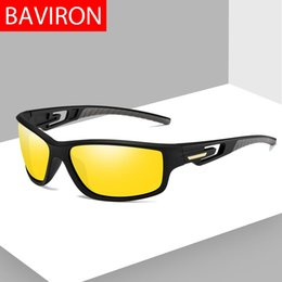 a7230a89c2 BAVIRON Sports Sunglasses Men Polarized UV Protect Goggles Men s Sunglasses  Driving Night Women Fishing Sun Glasses Light Weight