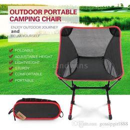 $enCountryForm.capitalKeyWord Australia - 2018 new portable fashion adjustable high altitude light folding chair, outdoor camping, beach chair, outdoor chair, fishing chair.